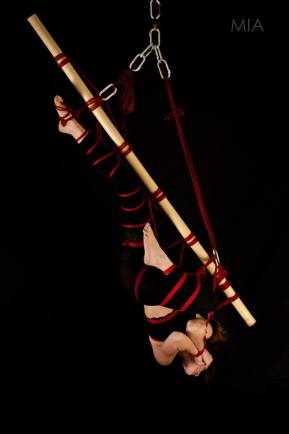 Rope by Miumi-U / Modelled by MissBones / Photo by www.miaculpalondon.wordpress.com